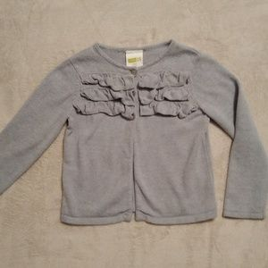 Crazy 8 Heather Grey Cardigan